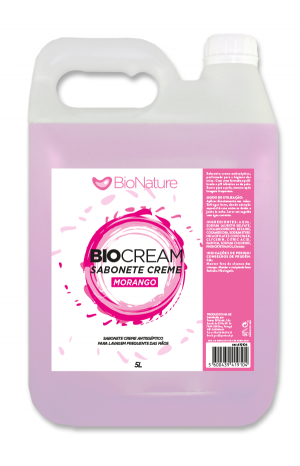 BIOCREAM MORANGO 5L